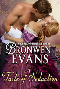 ARC Review: A Taste of Seduction by Bronwen Evans