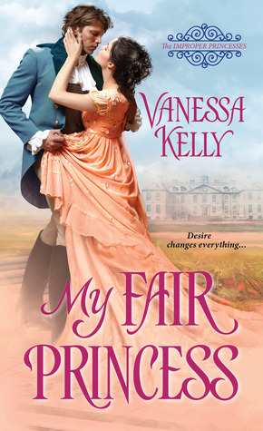 Spotlight: My Fair Princess by Vanessa Kelly (Interview, Review & Giveaway)