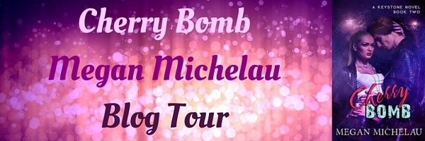cherry bomb Blog Tour Banner